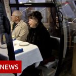 Socially distanced dining in a bubble above Seattle – BBC News
