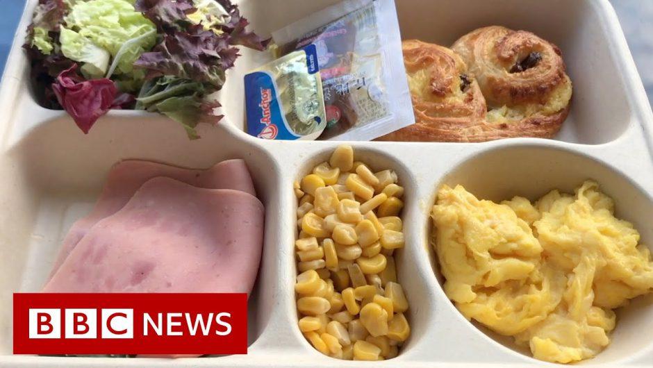 Inside a quarantine hotel – BBC News