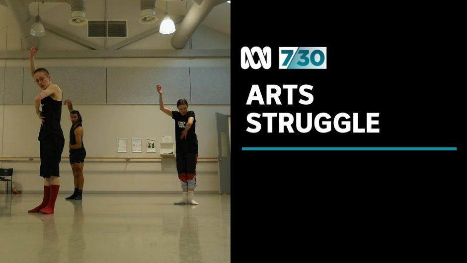 Arts sector struggling to survive coronavirus pandemic | 7.30