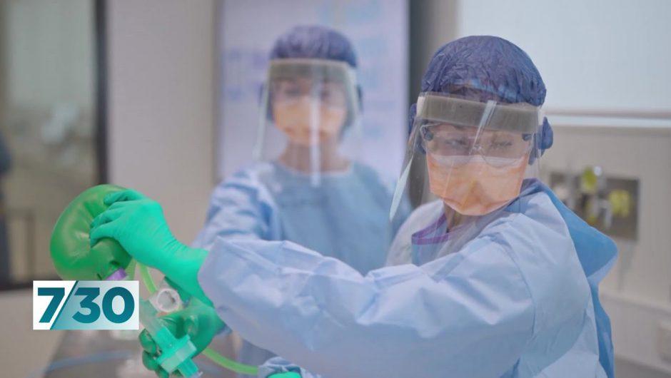 A behind-the-scenes look at efforts to prepare hospitals for coronavirus peak | 7.30