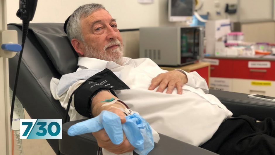 COVID-19 patients' plasma helping with immunity research | 7.30