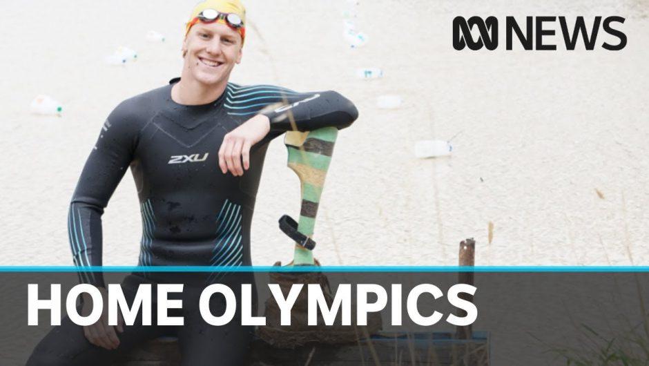 Australia's elite athletes turn to unusual training facilities during coronavirus crisis | ABC News