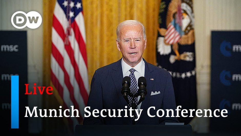Joe Biden, Angela Merkel and others deliver remarks at MSC 2021 | Munich Security Conference