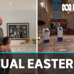Easter celebrations go digital amid coronavirus lockdown | ABC News