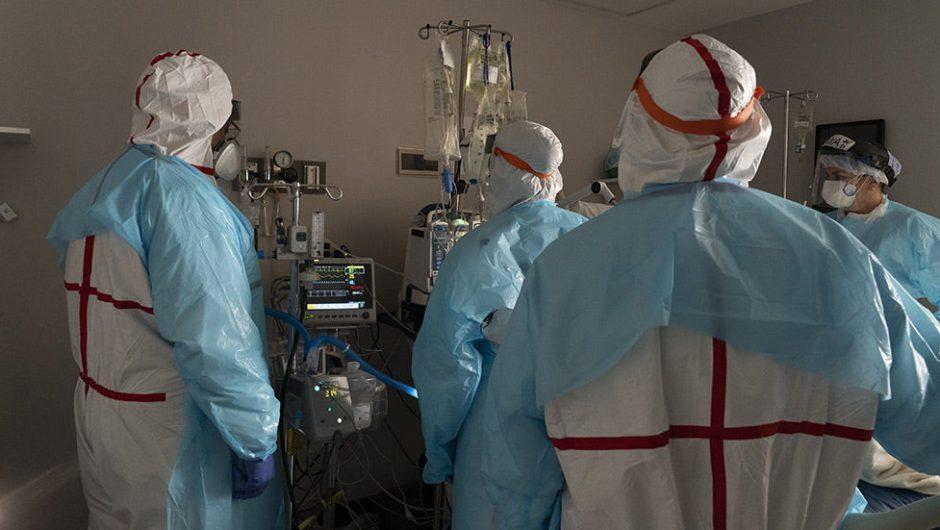 Coronavirus hospitalizations hit lowest level in nearly three months
