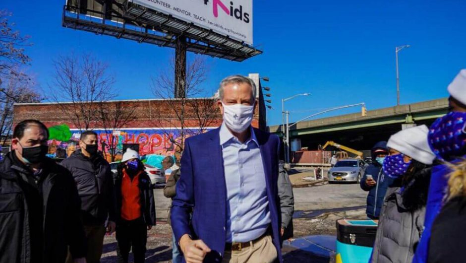 City opens COVID-19 vaccine site for the elderly in Red Hook
