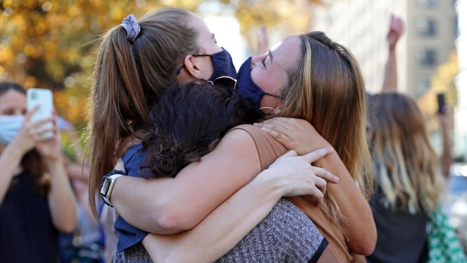 COVID-19: England's legal limits on social contact set to end in June – hugs could be allowed from May | Politics News