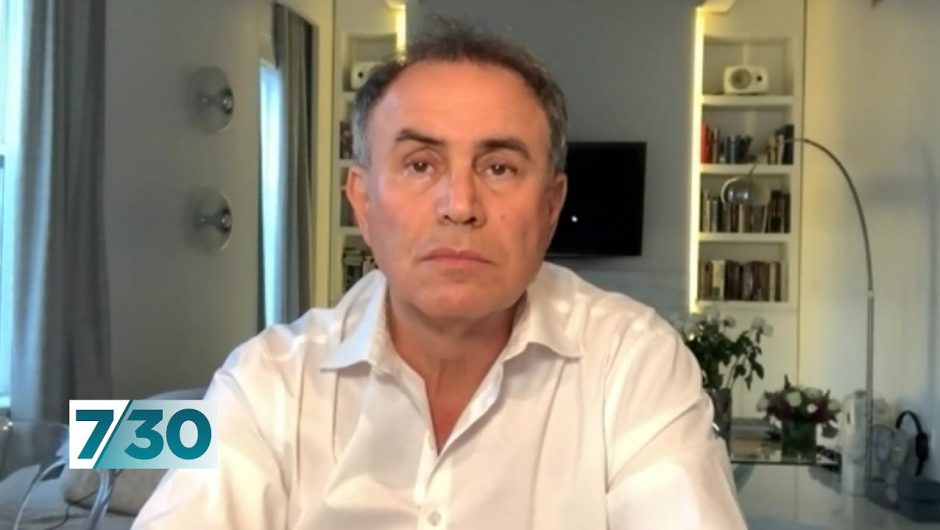 Dr Nouriel Roubini discusses the economic impact of COVID-19 | 7.30