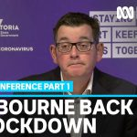 Melbourne to go back into full lockdown as state records highest coronavirus daily cases | ABC News