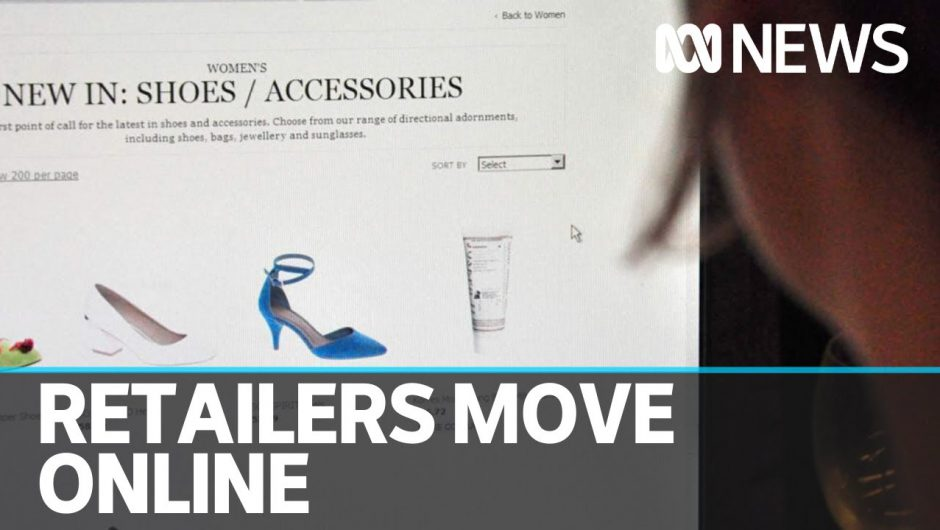 COVID-19 forces clothing retailers to fastrack move to online   ABC News