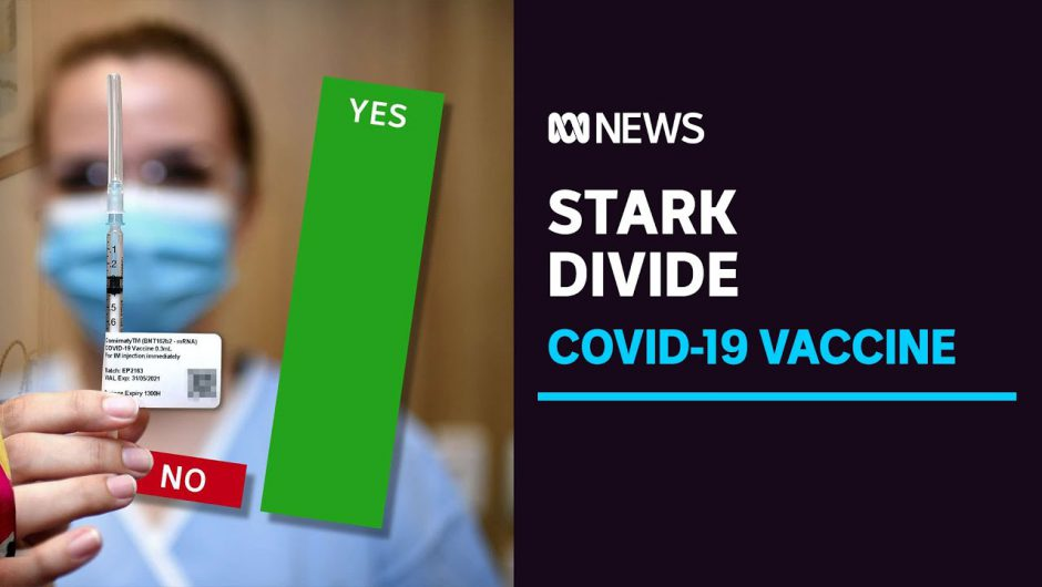 Attitudes on the COVID vaccine differ on political lines, but most still keen for the jab | ABC News