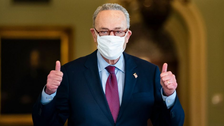 Senate Democrats Pass $1.9 Trillion Covid-19 Relief Plan