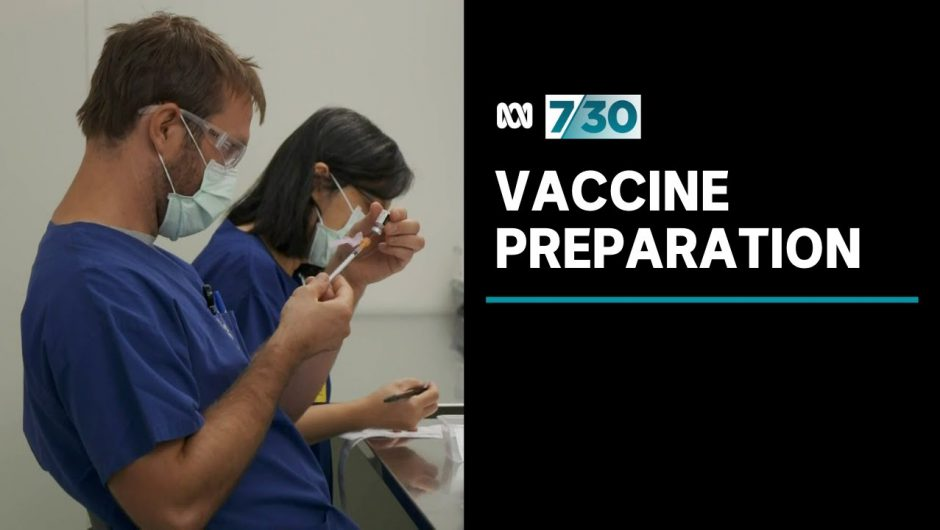 The complex process that goes into preparing the COVID vaccines | 7.30