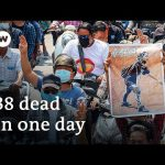 Funerals and protests follow Myanmar's deadliest day | DW News