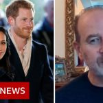 Newspaper editor defends Meghan and Prince Harry tabloid headlines – BBC News