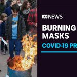Biden gets relief package passed, US protesters burn masks, and world leaders get vaccine | ABC News