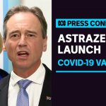 Hunt and Gillard team up for Astrazeneca vaccine launch | ABC News
