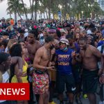 Emergency curfew in Miami Beach over spring break Covid risk – BBC News