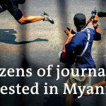 Myanmar military junta targets media in post-coup crackdown | DW News