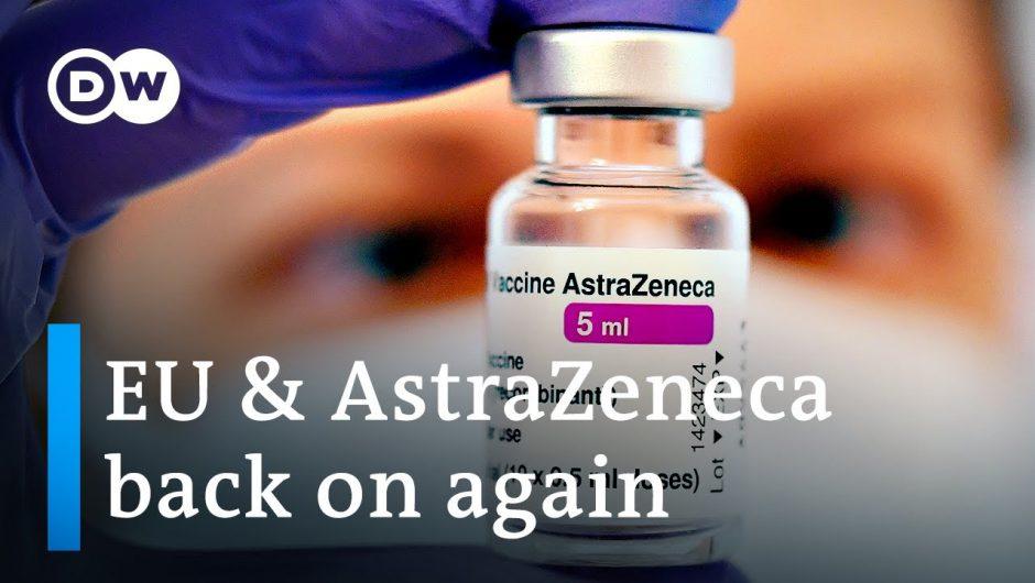 EU countries to resume AstraZeneca vaccinations | DW News