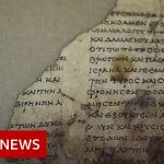 Rare ancient scroll found in Israel Cave of Horror – BBC News