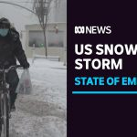 Massive US snow storm causes suspension of coronavirus testing and vaccinations | ABC News