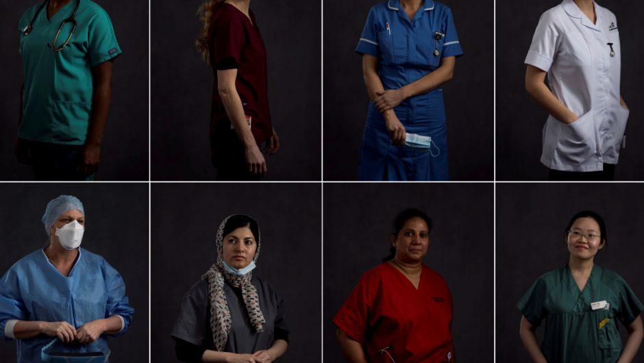 'Not running away': Women fighting on Britain's COVID front line | Coronavirus pandemic News