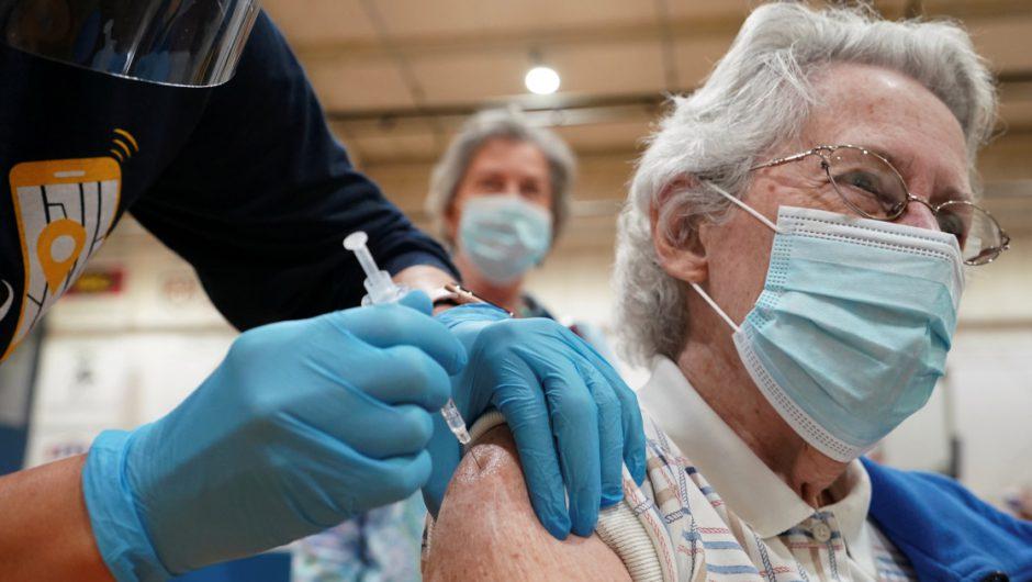 US surpasses 100 million COVID vaccinations | Coronavirus pandemic News
