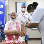Twitter Faceoff: Fans and critics of PM Modi clash after he takes first dose of Covid-19 vaccine | India News