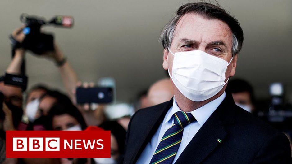 Political crisis and Covid surge rock Brazil – BBC News