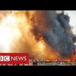 Hundreds missing after devastating fire in world's biggest refugee camp – BBC News