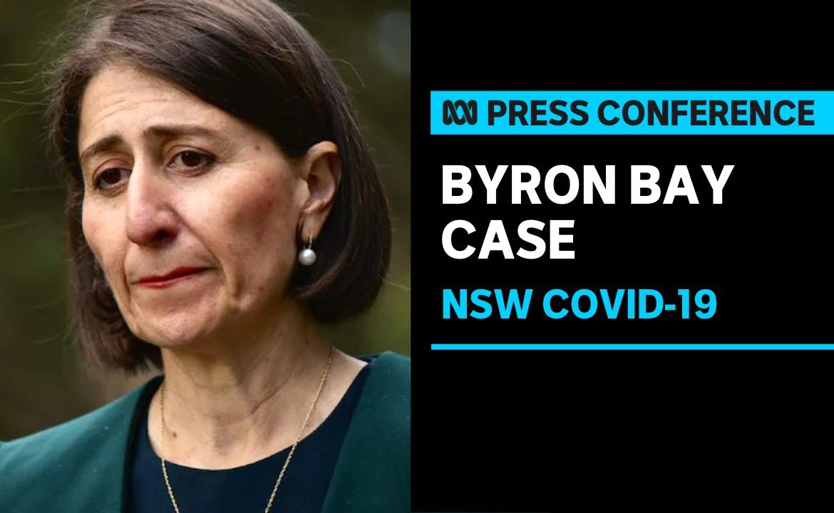 NSW records new community transmitted COVID-19 case in Byron Bay | ABC News