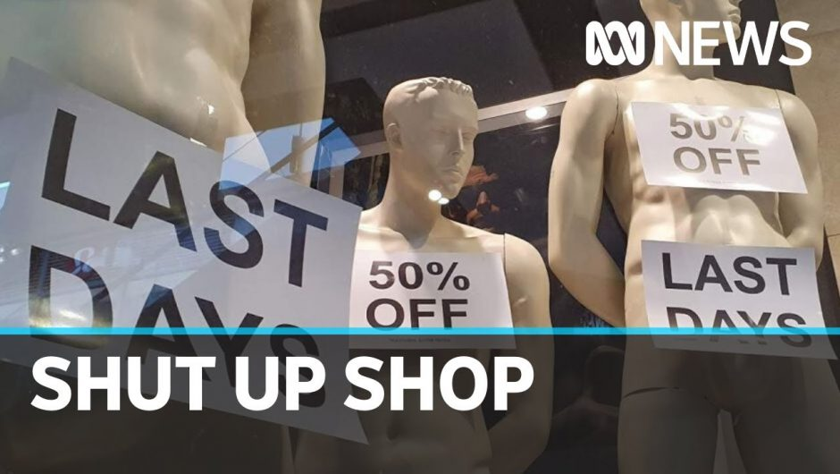 Coronavirus empties shopping centres as clothing retailers fight to stay open   ABC News