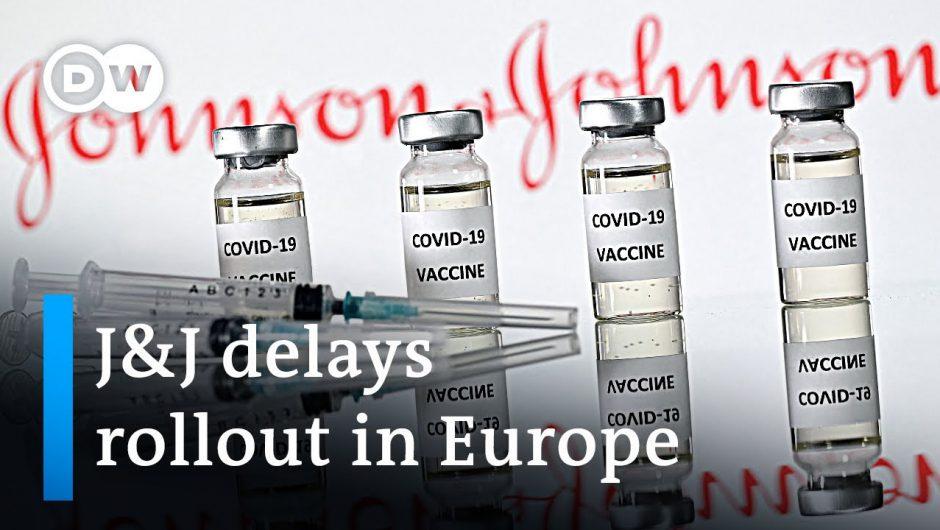 US suspends use of Johnson & Johnson vaccine   DW News
