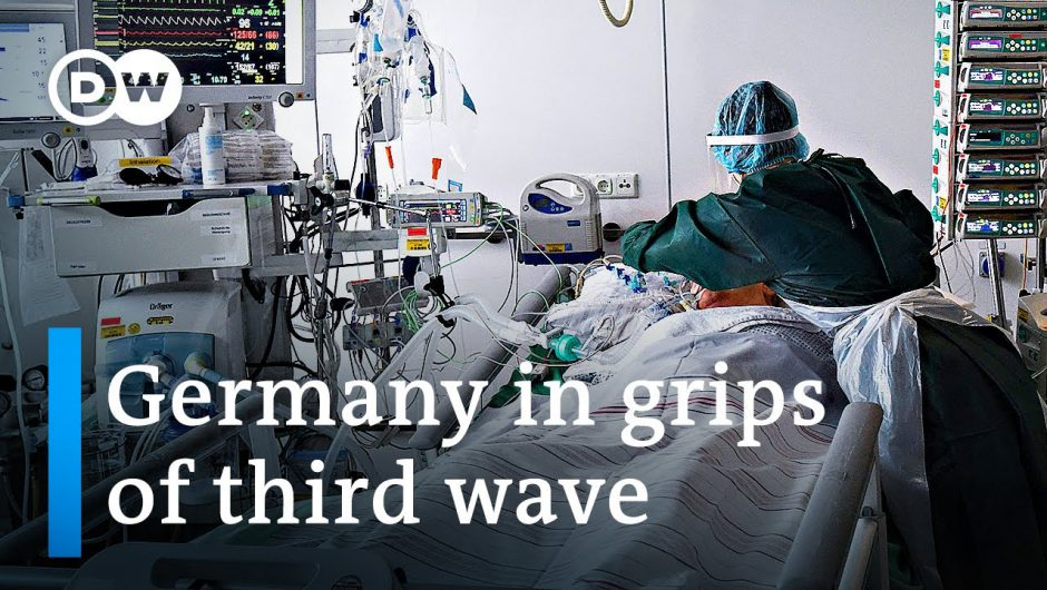 German ICU units fill up with younger COVID-19 patients | DW News