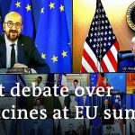 Joe Biden speaks at heated EU summit on vaccines | DW News