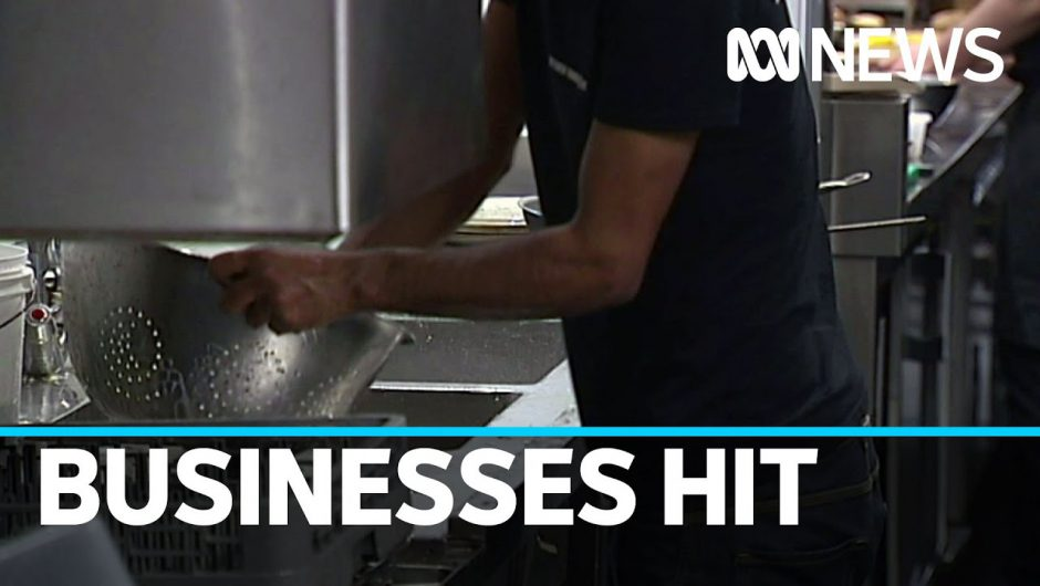 Coronavirus has people worried, whether business owner, developer or casual employee | ABC News