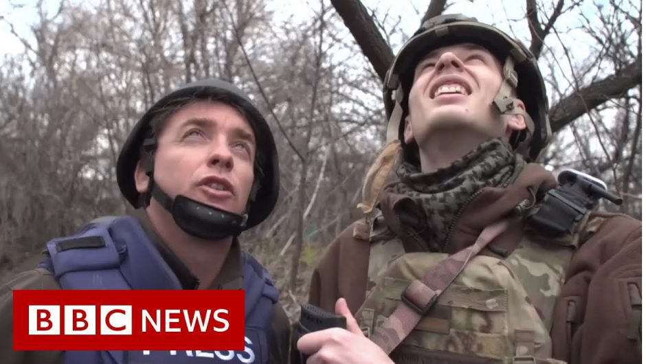On the front line in eastern Ukraine – BBC News