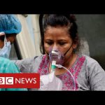 Hospitals in India run out of oxygen as its Covid cases hit world record levels – BBC News