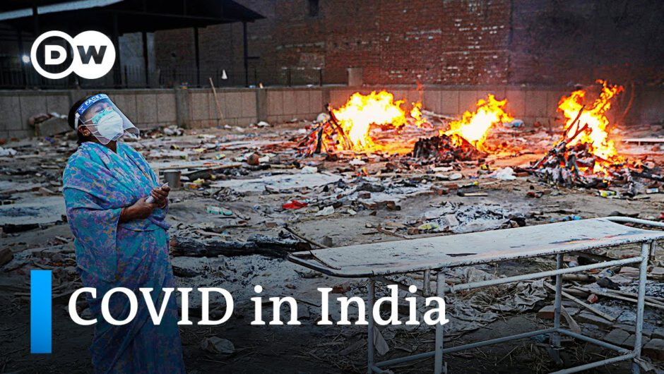 India records another record high in daily COVID deaths and infections   DW News