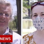 Covid: Americans still conflicted over outdoor masks – BBC News