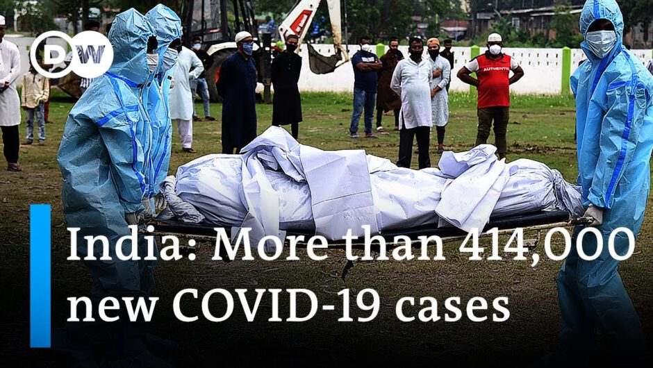 India shatters global record as COVID-19 cases surge again | DW News