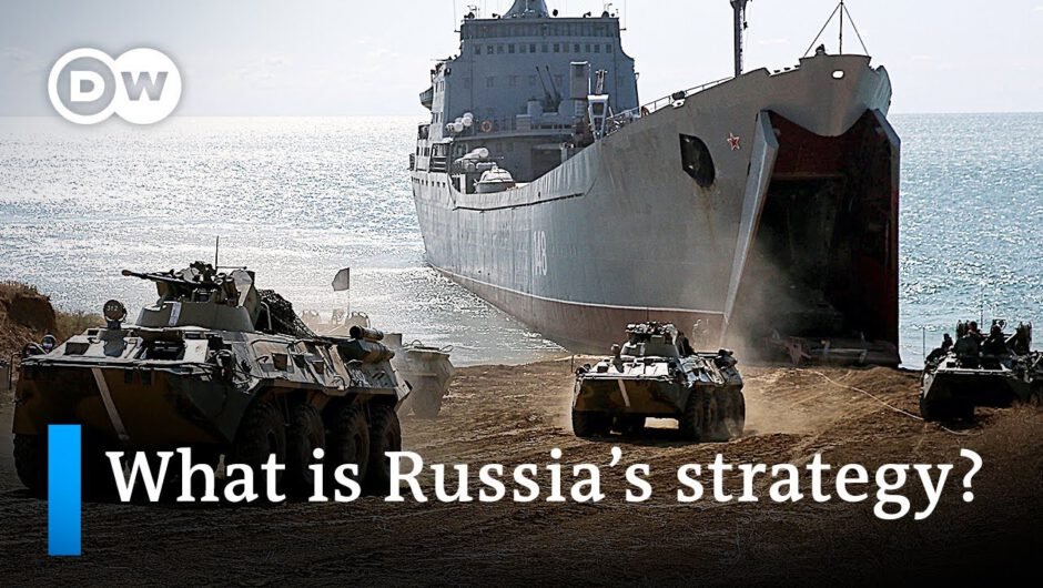 Russia's escalation at the Ukraine border: Show of force or a failed threat to the West? | DW News