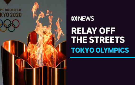 Tokyo Olympic torch relay moves off Osaka streets after COVID-19 spike   ABC News